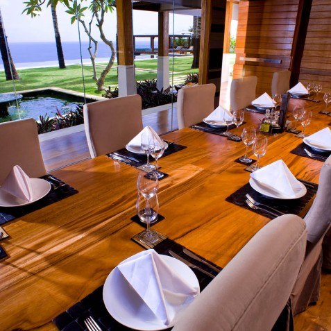 The Istana Bali - Dining Room - Uluwatu, Bali