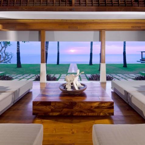 The Istana Bali - Living Room at Sunset - Uluwatu, Bali