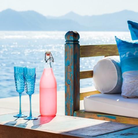 Tirta Nila Beach House, Candidasa, Bali - Oceanfront Refreshments