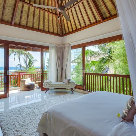 Tirta Nila Beach House, Candidasa, Bali - Upstairs Guest Bedroom