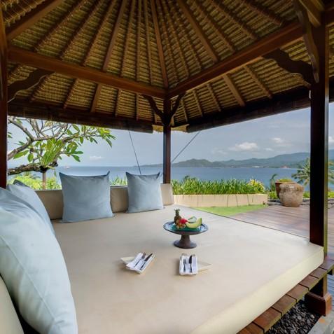 Villas Asada, Candidasa, Bali - Garden Bale