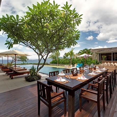 Villas Asada, Candidasa, Bali - Alfresco Dining