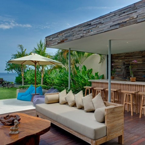 Villas Asada, Candidasa, Bali - Pool Bar and Lounge
