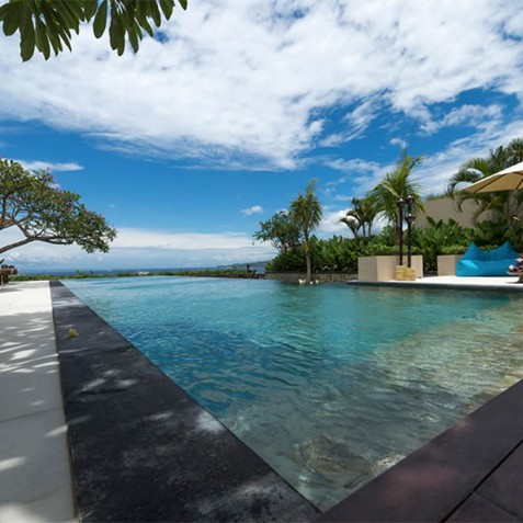 Villas Asada, Candidasa, Bali - Pool Edge View