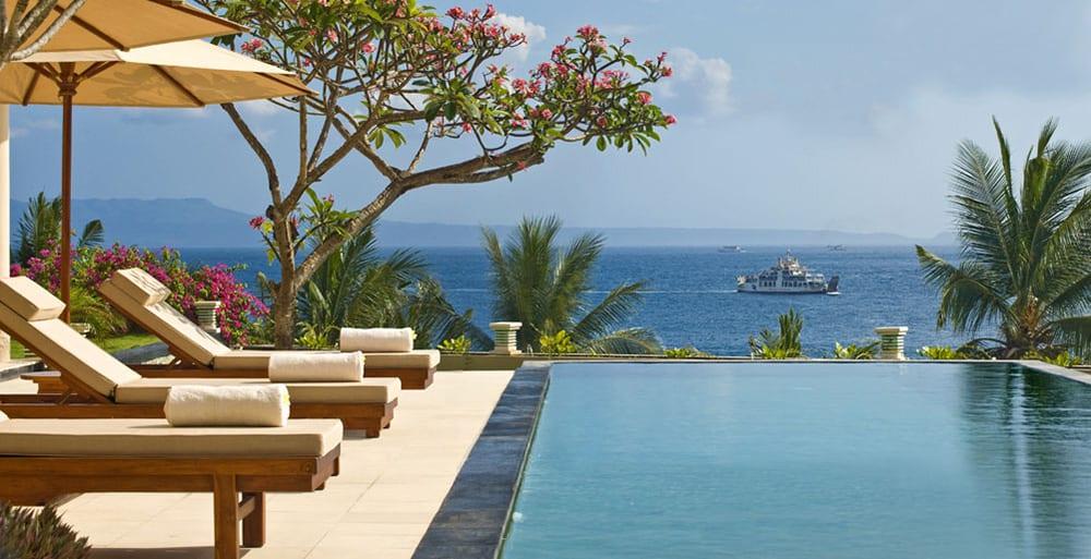 Villas Asada, Candidasa, Bali - Pool View