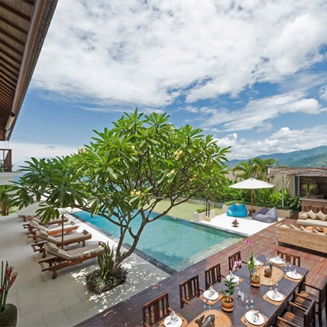 Villas Asada, Candidasa, Bali - Outdoor Living