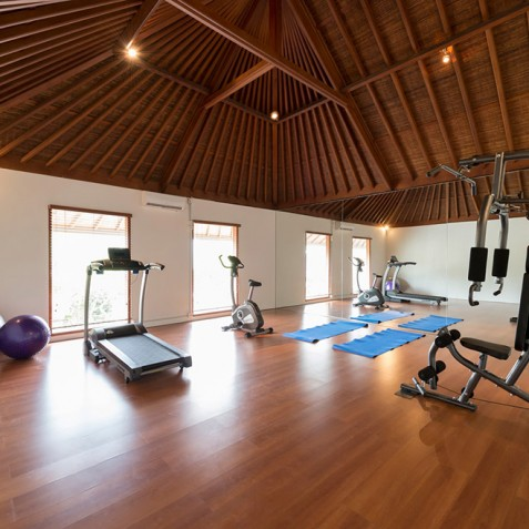 Villas Asada, Candidasa, Bali - The Gym