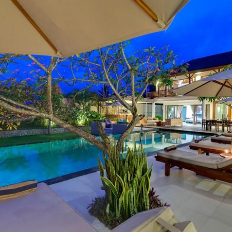 Villas Asada, Candidasa, Bali - Villa at Dusk