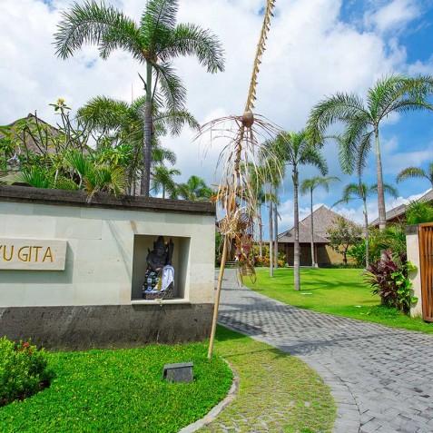 Villa Bayu Gita Beachfront Bali - Entrance