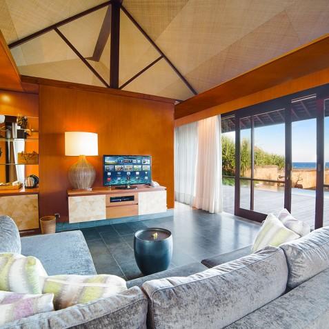Villa Bayu Gita Beachfront Bali - Living Area