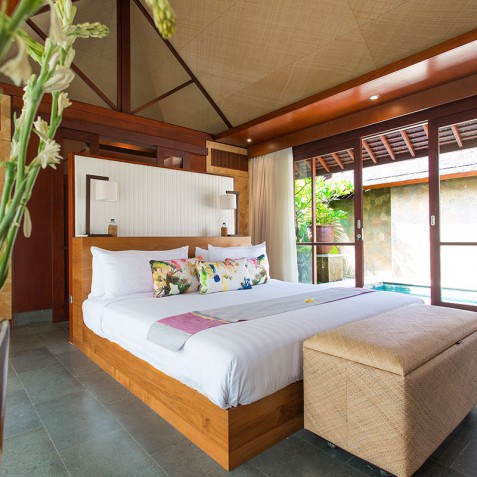 Villa Bayu Gita Beachfront Bali - Master Suite Two