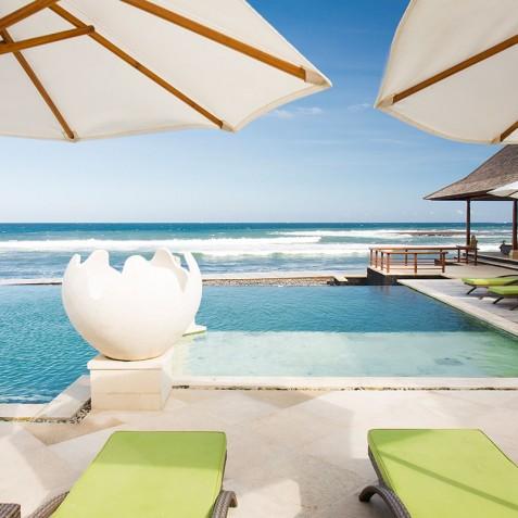 Villa Bayu Gita Beachfront Bali - Ocean View