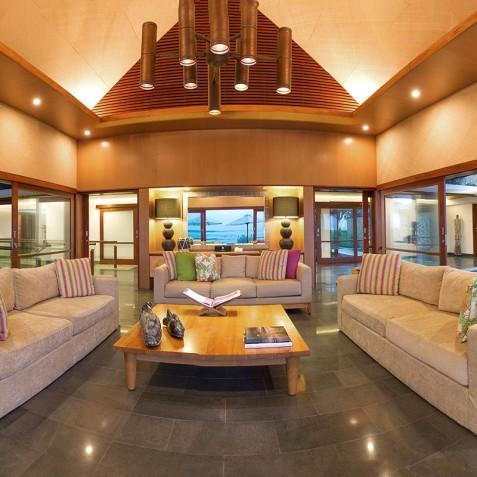 Villa Bayu Gita Beachfront Bali - Sitting Room