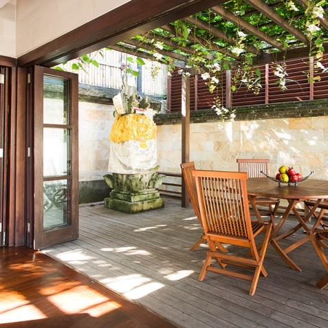 Villa Bayu Gita Residence Bali - Alfresco Dining