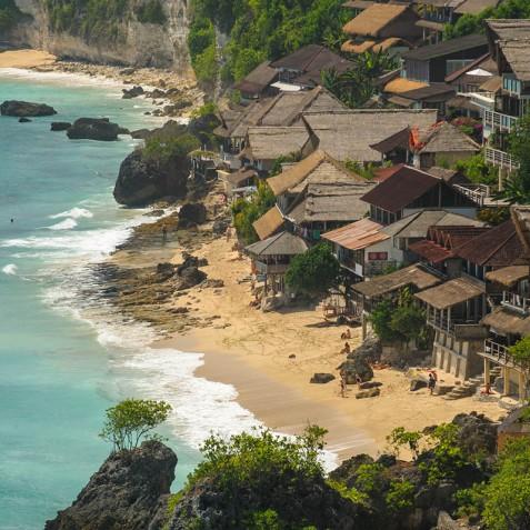 Villa Bayuh Sabbha - Beach Below - Uluwatu, Bali
