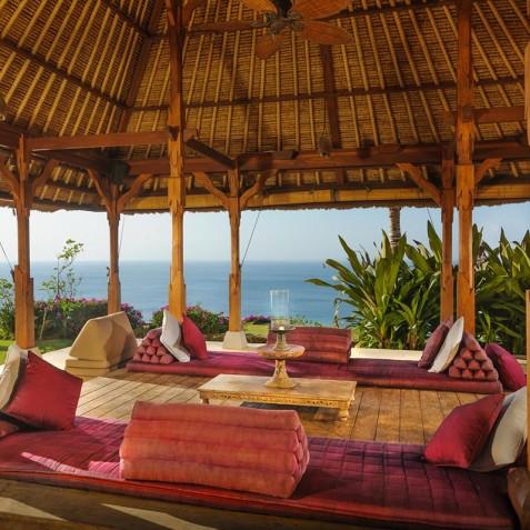 Villa Bayuh Sabbha - Clifftop Living Area - Uluwatu, Bali