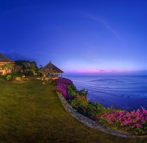 Villa Bayuh Sabbha - Evening Panorama - Uluwatu, Bali