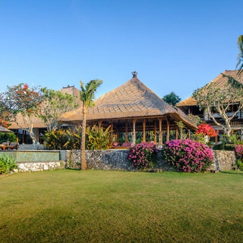 Villa Bayuh Sabbha - Garden and Pavilions - Uluwatu, Bali