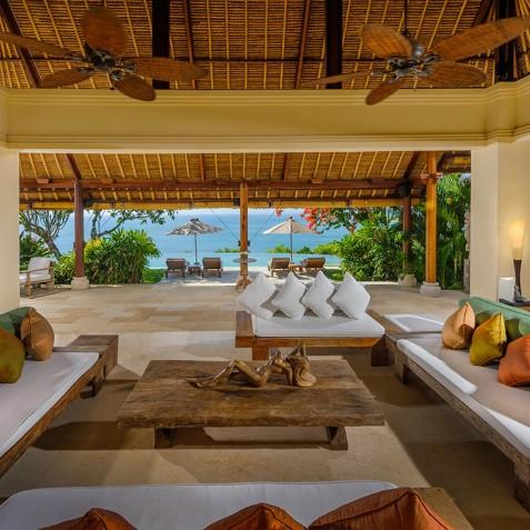 Villa Bayuh Sabbha - Living Pavilion - Uluwatu, Bali