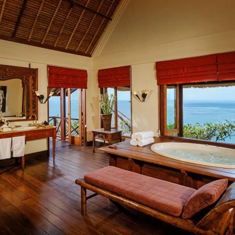 Villa Bayuh Sabbha - Master Bathroom - Uluwatu, Bali