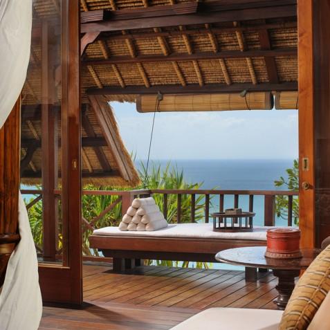Villa Bayuh Sabbha - Master Bedroom Balcony - Uluwatu, Bali