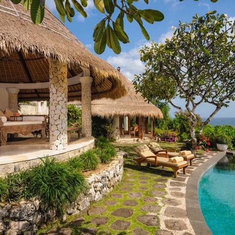 Villa Bayuh Sabbha - Poolside - Uluwatu, Bali