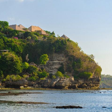 Villa Bayuh Sabbha - Villa from Beach - Uluwatu, Bali