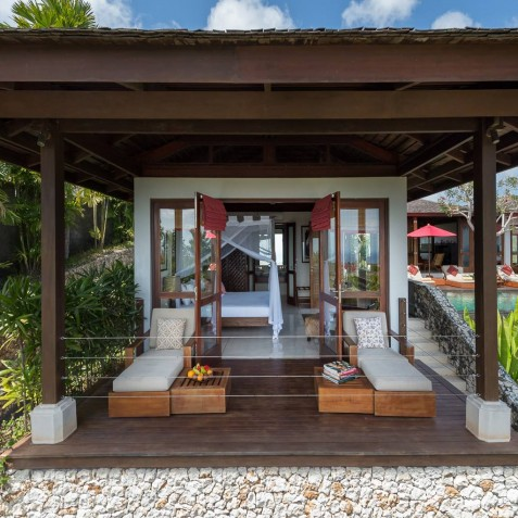 Villa Capung Bali - Guest Suite Deck