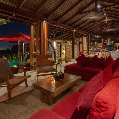 Villa Capung Bali - Living