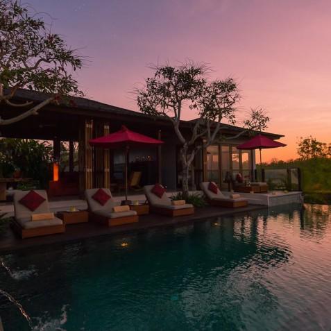 Villa Capung Bali - Sunset