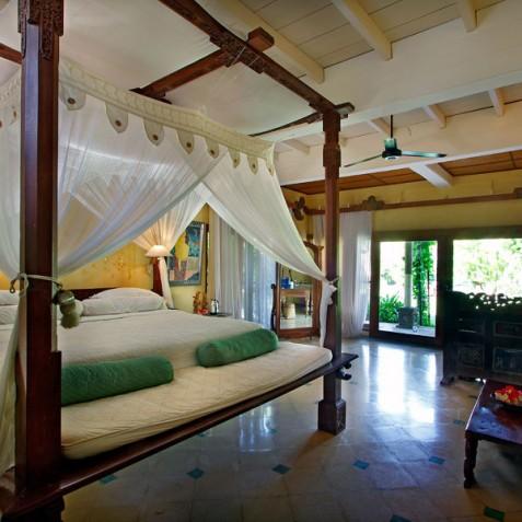 Villa Hibiscus, Sanur, Bali - Master Bedroom