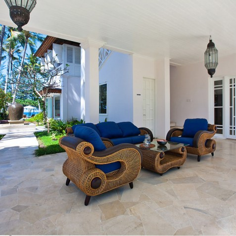 Villa Puri Nirwana, Sanur-Ketewel, Bali - Open Air Lobby