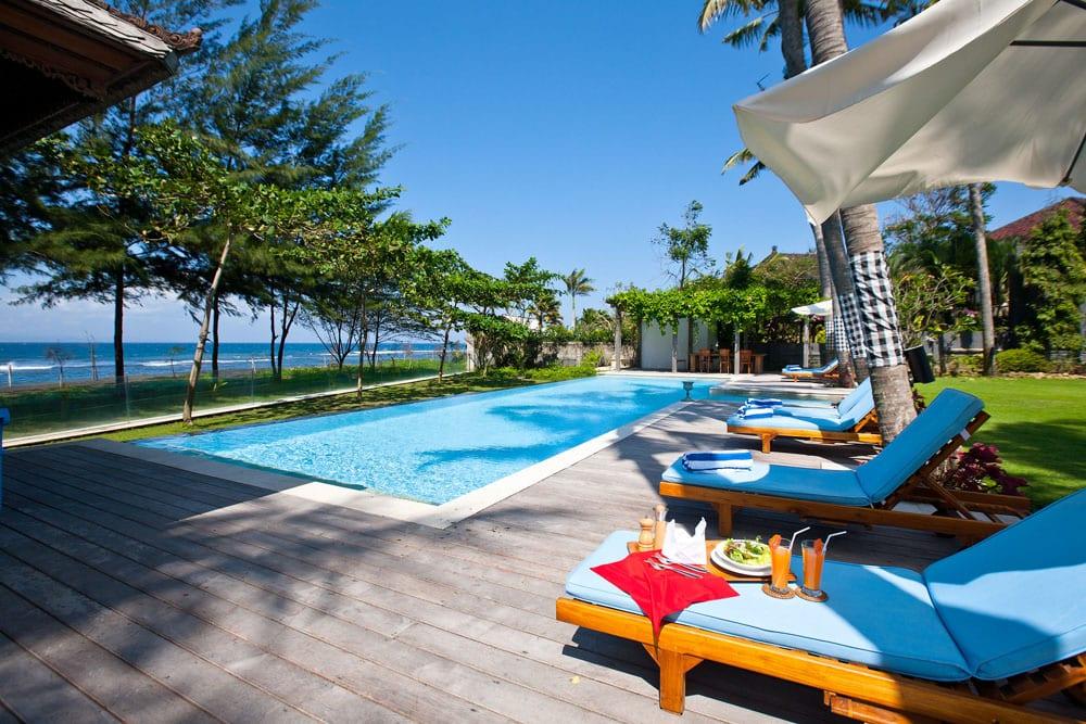 Villa Puri Nirwana, Sanur-Ketewel, Bali - Pool and Sun Deck
