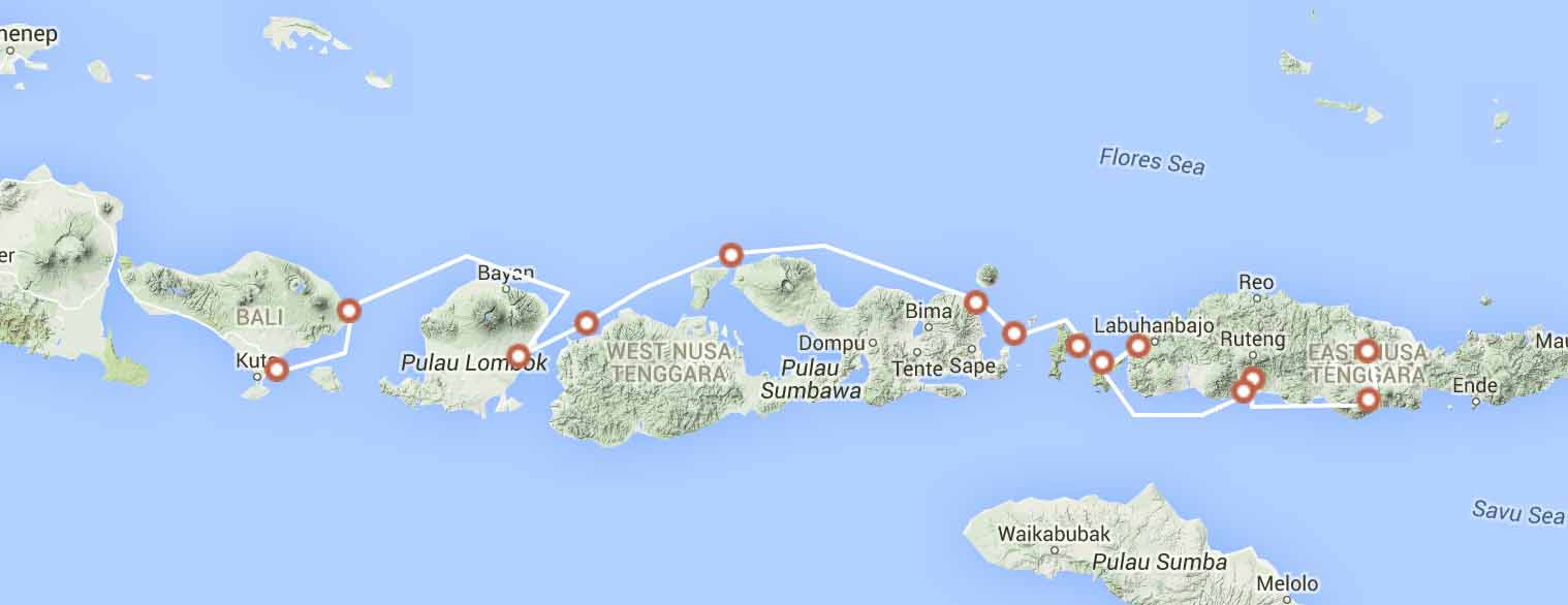 bali-to-flores-photographic-expedition-route