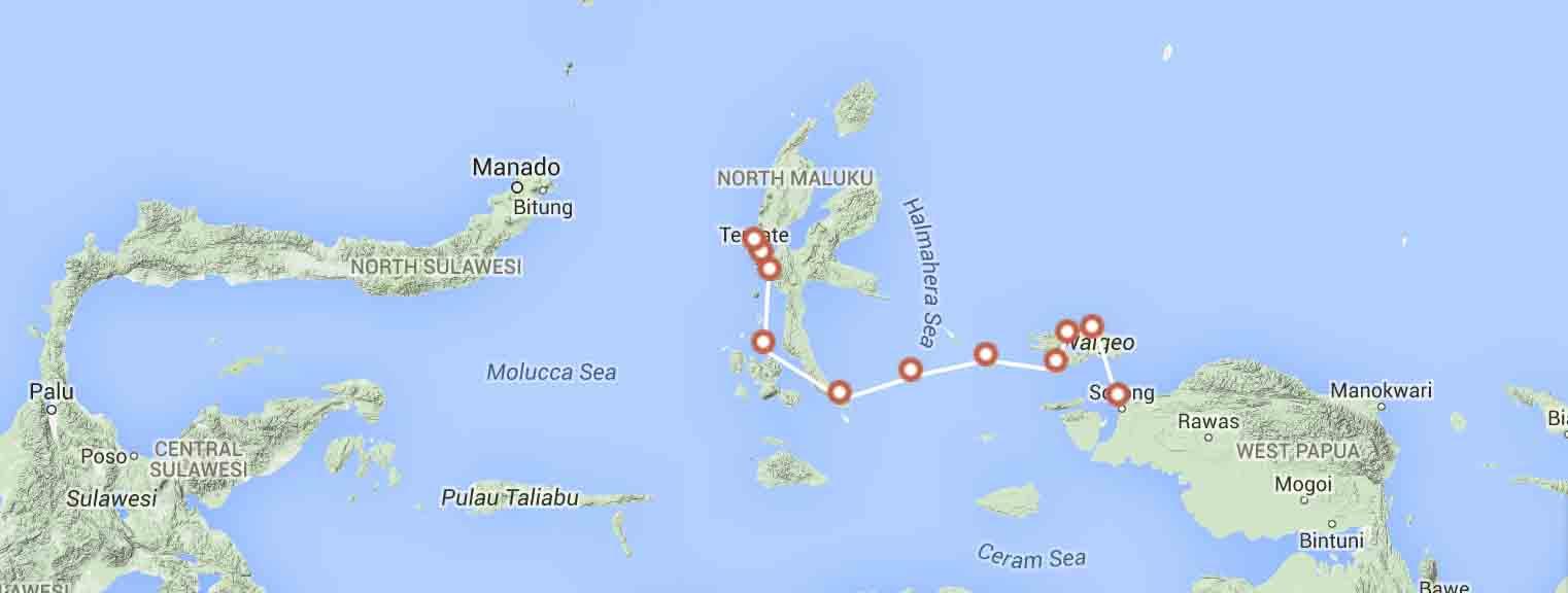 new-year-raja-ampat-adventure-cruise-route