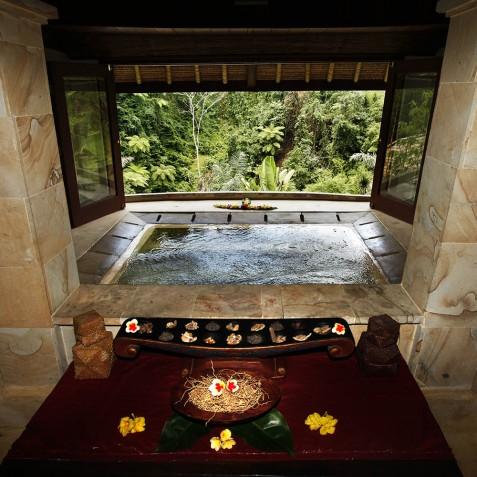Bagus Jati Health & Wellbeing Retreat, Bali - Spa Jacuzzi