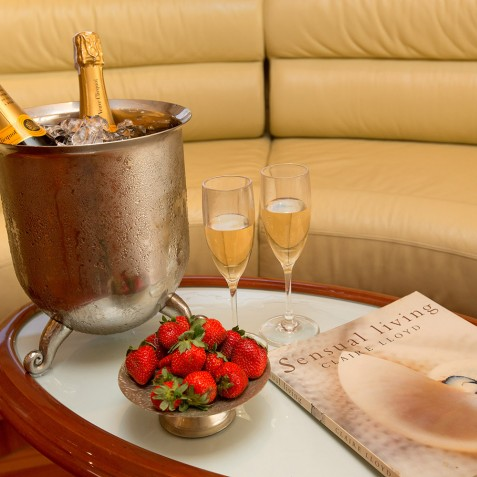 Champagne - Burjuman - Luxury Yacht Charter & Cruises - Bali, Indonesia