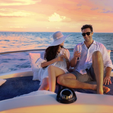Sunset Cruise - Burjuman - Luxury Yacht Charter & Cruises - Bali, Indonesia