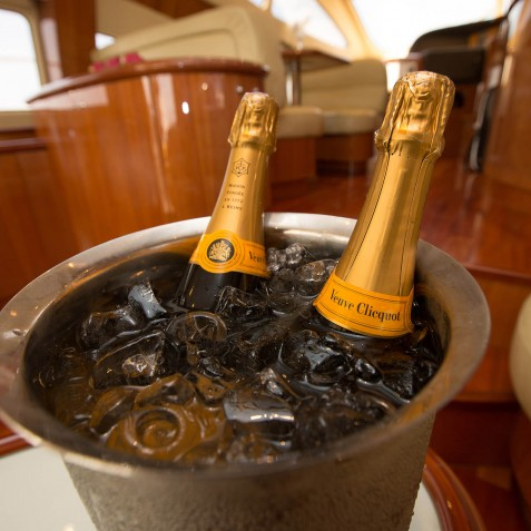 Champagne on Ice - Burjuman - Luxury Yacht Charter & Cruises - Bali, Indonesia