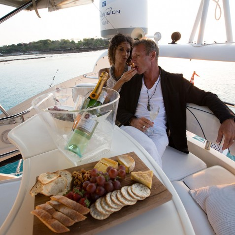 Lunch on Board - Burjuman - Luxury Yacht Charter & Cruises - Bali, Indonesia