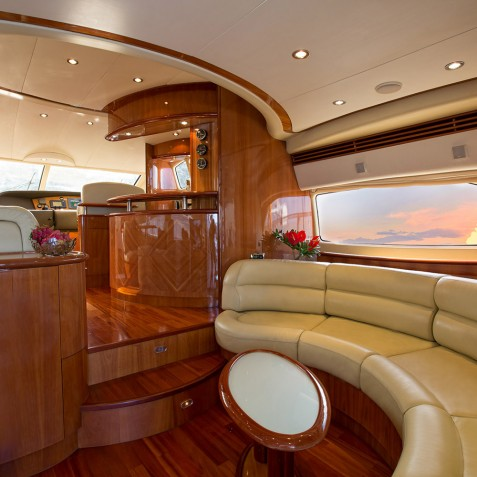 Saloon - Burjuman - Luxury Yacht Charter & Cruises - Bali, Indonesia