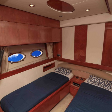 Twin Cabin - Burjuman - Luxury Yacht Charter & Cruises - Bali, Indonesia