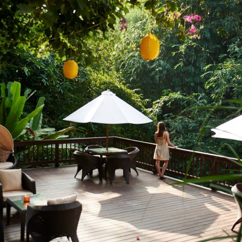 River Deck - Sukhavati Ayurvedic Retreat & Spa Bali