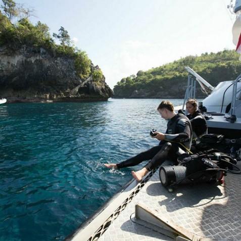 Diving - Haruku - Luxury Yacht Charter, Bali, Indonesia