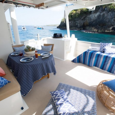 On Board - Haruku - Luxury Yacht Charter, Bali, Indonesia