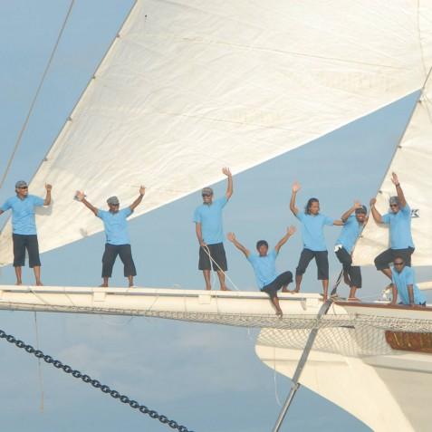 Crew - Mutiara Laut - Luxury Yacht Charter Indonesia