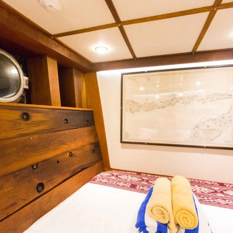 Double Cabins - Ombak Putih Cruises - Sailing Adventures - Indonesia