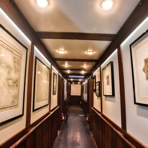 Cabin Corridor - Ombak Putih Cruises - Sailing Adventures - Indonesia