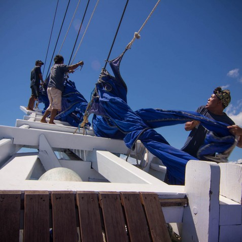 Crew - Ombak Putih Cruises - Sailing Adventures - Indonesia