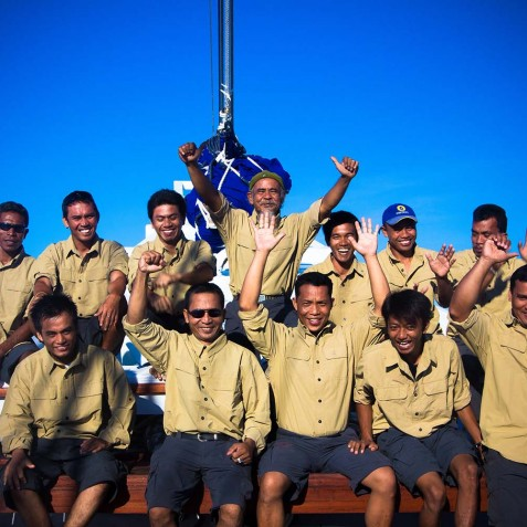 Crew Members - Ombak Putih Cruises - Sailing Adventures - Indonesia